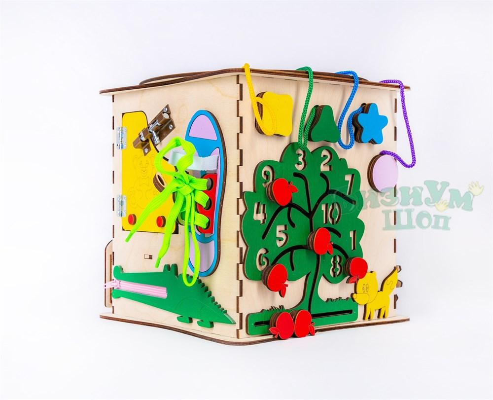 Бизикуб со светом Elite Toys 25*25*25 см - фото 5147