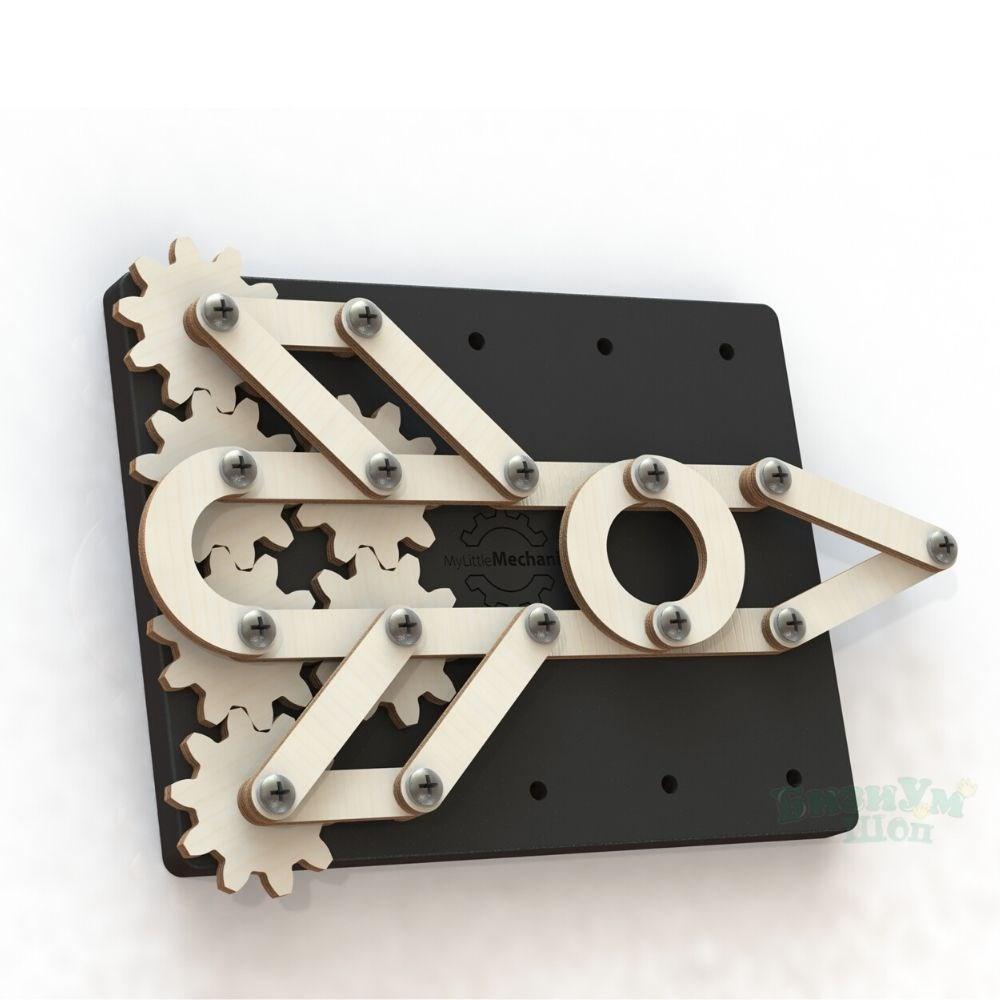 My little mechanic деревянный механический конструктор - фото 5494