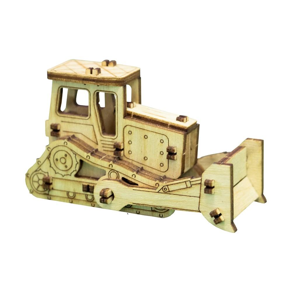 Деревянный конструктор Трактор - фото 5637