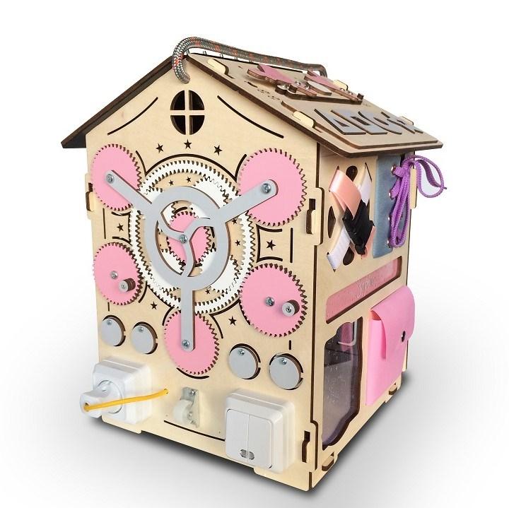 Бизидом Mickey Maya розовый 35*35*40 - фото 5773