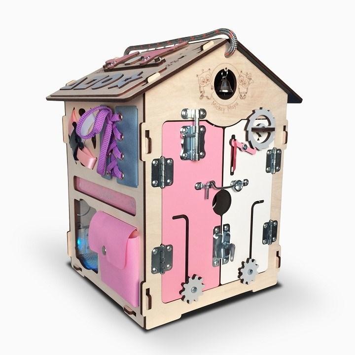 Бизидом Mickey Maya розовый 35*35*43 - фото 5779