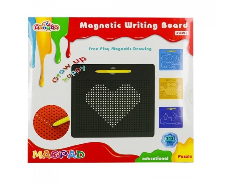 Магнитный планшет. Доска для рисования магнитами 713 деталей - фото 6260