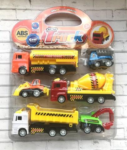 Мини-набор машинок строительной техники Truck - фото 6261