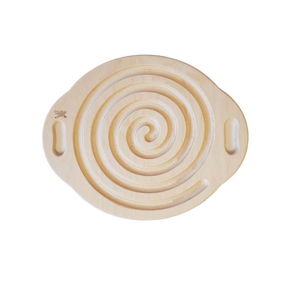 Лабиринт Спираль для деревянного балансира для ног - фото 6326