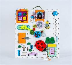Бизиборд со светом и минитеатром Elite Toys 60х50 см