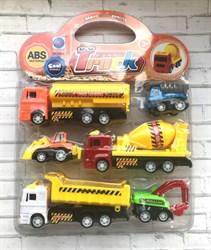 Мини-набор машинок строительной техники Truck