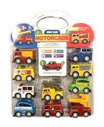 Мини-набор машинок служебных автомобилей Motorcade