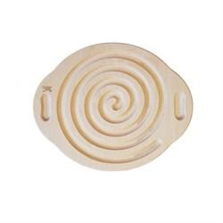Лабиринт Спираль для деревянного балансира для ног